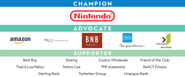 Champions of Youth Virtual Gala Sponsors